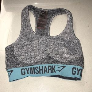 Gray Gymshark Sports Bra